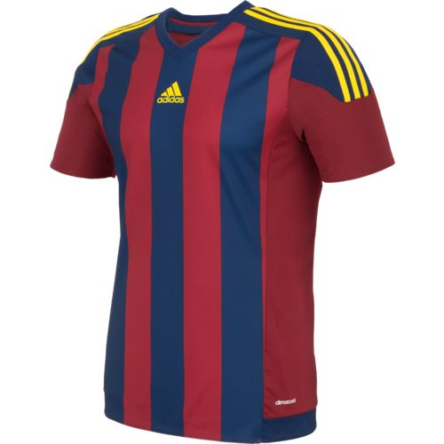 Display product reviews for adidas Men's Striped 15 Soccer Jersey