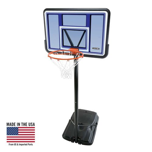 "Display product reviews for Lifetime 44"" Polycarbonate Portable Basketball Hoop"
