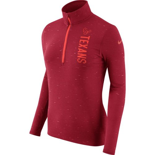 Nike Women's Houston Texans Element 1/2 Zip Top