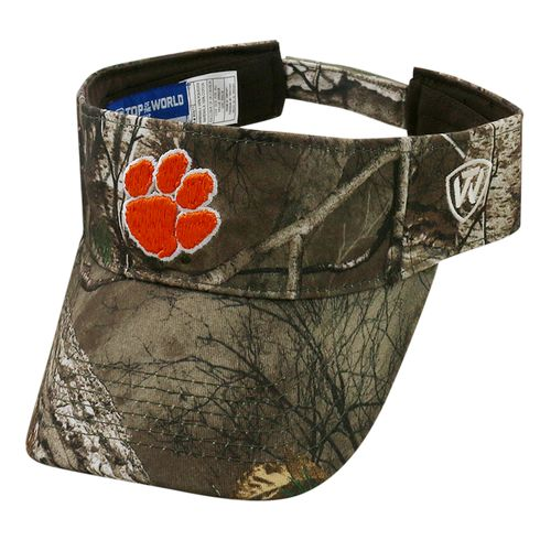 Top of the World Men's Clemson University Realtree Visor