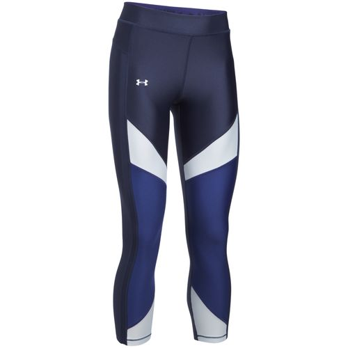 Under Armour Women's HeatGear Color Blocked Ankle Capri Pant