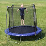 Skywalker Trampolines 8 ft Round Trampoline with Enclosure - view number 8