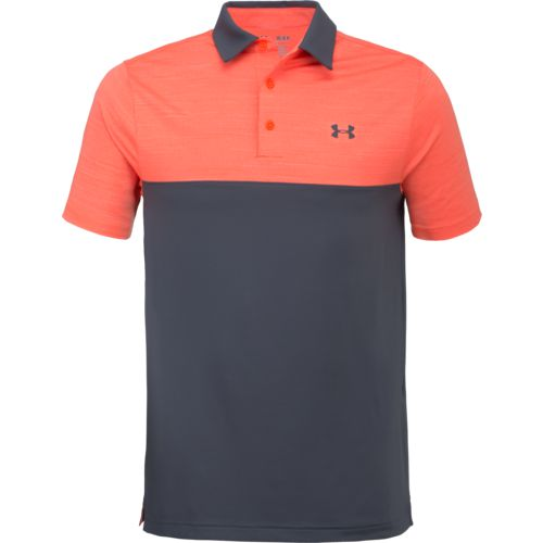 Under Armour Men's Playoff Blocked Polo Shirt