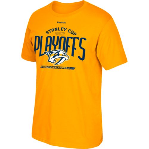 Reebok Men's Nashville Predators 2017 NHL Playoffs Mountain Climb T-shirt