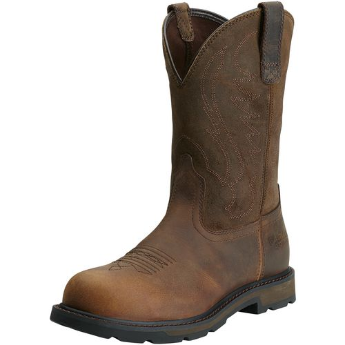 Ariat Men's Groundbreaker Wellington Steel Toe Work Boots - view number 2