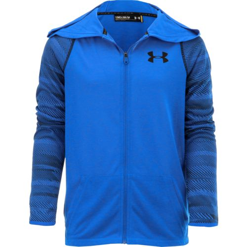Under Armour Boys' Threadborne Full Zip Hoodie