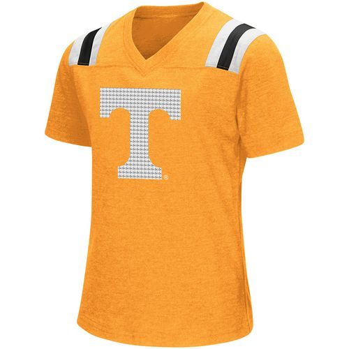 Colosseum Athletics Girls' University of Tennessee Rugby Short Sleeve T-shirt