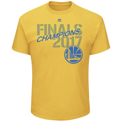 Majestic Men's Golden State Warriors 2017 NBA Finals Champions Roster Legendary Asset T-shirt