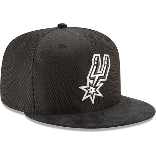 New Era Men's San Antonio Spurs 59FIFTY Team On Court Cap - view number 4