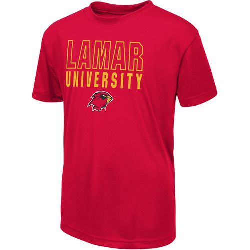 Colosseum Athletics Boys' Lamar University Team Mascot T-shirt