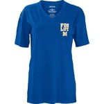 Three Squared Juniors' McNeese State University Team For Life Short Sleeve V-neck T-shirt - view number 2