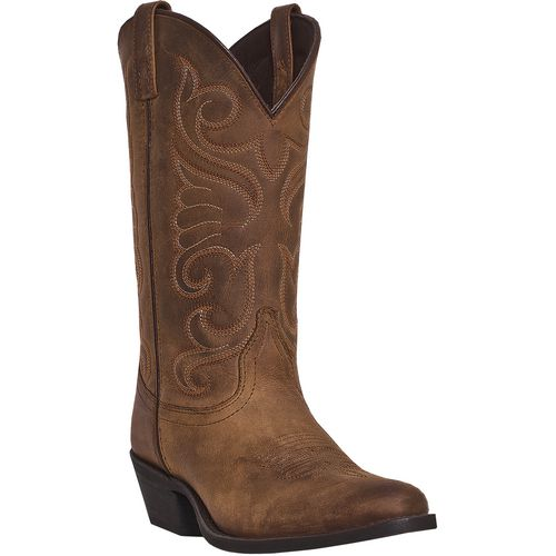 Laredo Women's Bridget Distressed Leather Western Boots