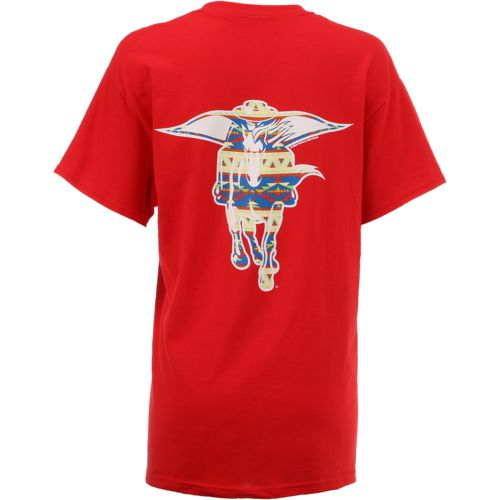 New World Graphics Women's Texas Tech University Logo Aztec T-shirt