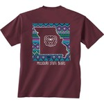 New World Graphics Women's Missouri State University Terrain State T-shirt - view number 1