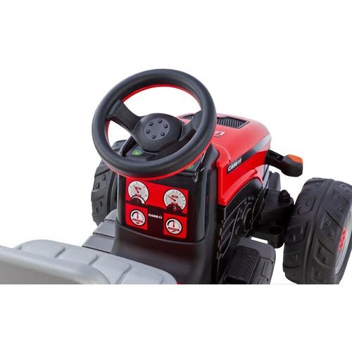 Peg Perego Case IH Lil Tractor and Trailer 6 V Ride-On Vehicle - view number 1