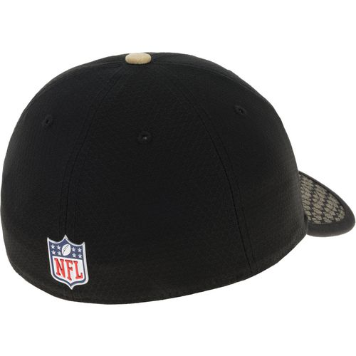 New Era Men's New Orleans Saints Onfield Sideline Team 2-Tone 39THIRTY Cap - view number 3
