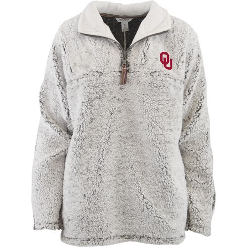 Three Squared Juniors' University of Oklahoma Poodle Pullover Jacket
