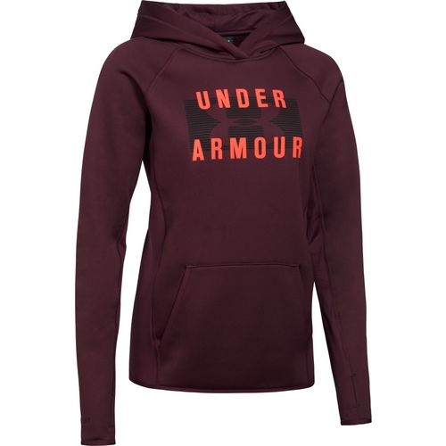 Under Armour Women's Solid Big Logo Hoodie