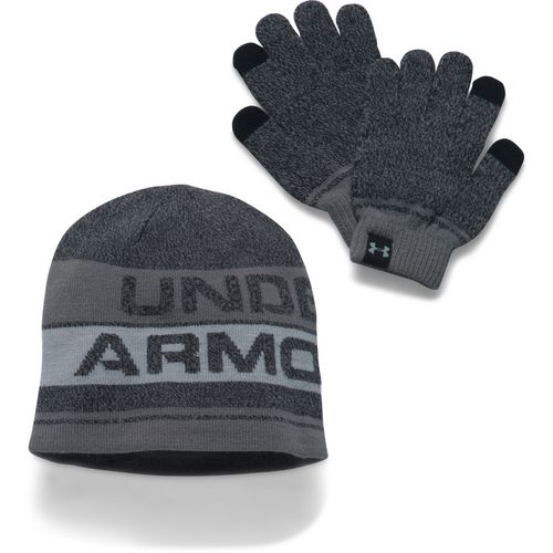 Under Armour Boys' Beanie and Glove Combo