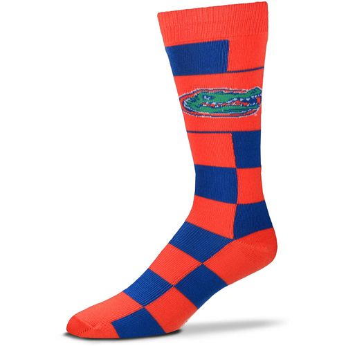 For Bare Feet University of Florida Jumbo Check Thin Knee High Dress Socks