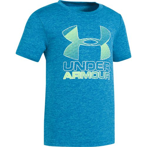 Under Armour Boys' Hybrid Big Logo Short Sleeve T-shirt - view number 1