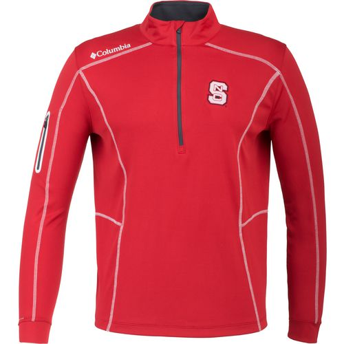 Columbia Sportswear Men's North Carolina State University Shotgun 1/4 Zip Pullover