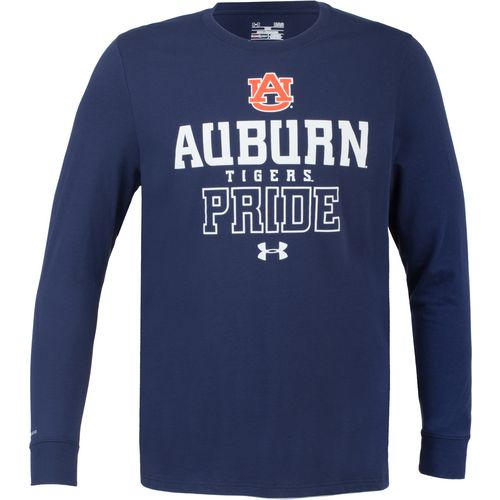 Under Armour Men's Auburn University Charged Cotton Long Sleeve T-shirt