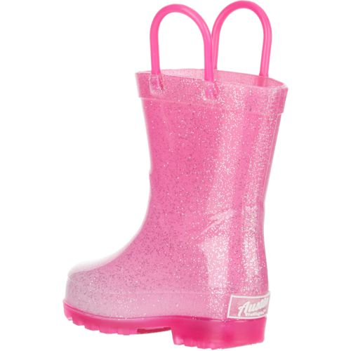 Austin Trading Co. Toddler Girls' Lighted PVC Glitter Boots - view number 3