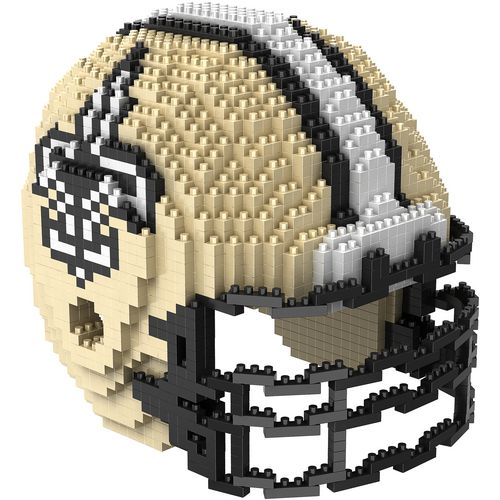 Forever Collectibles Orleans Saints 3-D BRXLZ Helmet Puzzle