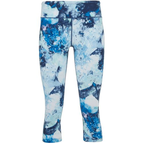 BCG Women's Athletic Printed Training Capri Pants