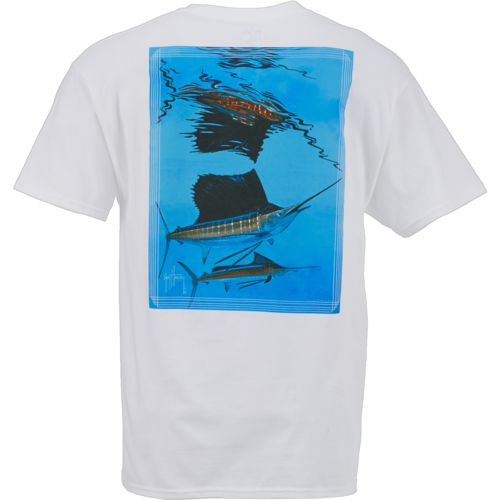 Guy Harvey Men's Sailfish Reflections T-shirt
