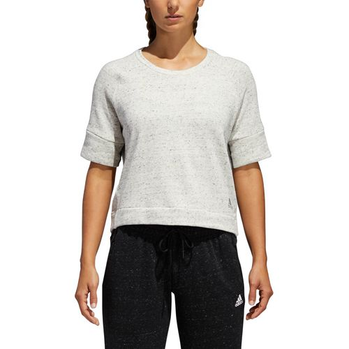 adidas Women's S2S Short Sleeve Crop Top - view number 6