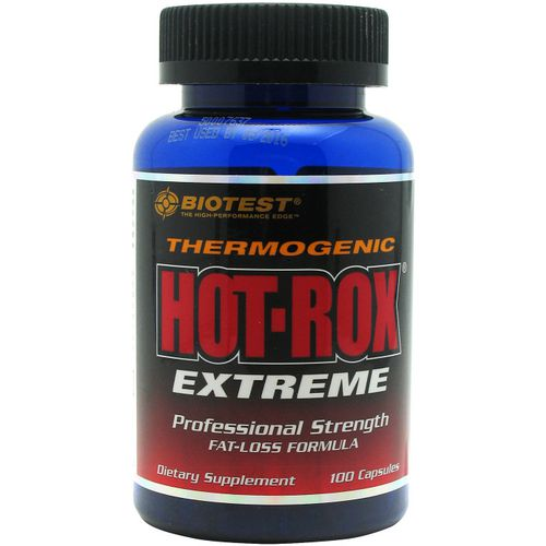 Biotest Thermogenic Hot-Rox Extreme Dietary Supplement