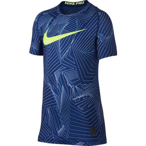 Display product reviews for Nike Boys' Fitted AOP Pro Shirt