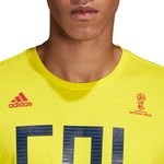 adidas Men's Colombia T-shirt - view number 4