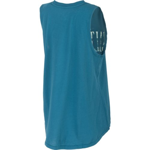 Salt Life Women's Happy Salturday Muscle Tank Top - view number 2