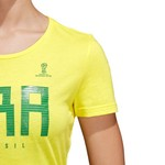 adidas Women's Brazil FIFA T-shirt - view number 6
