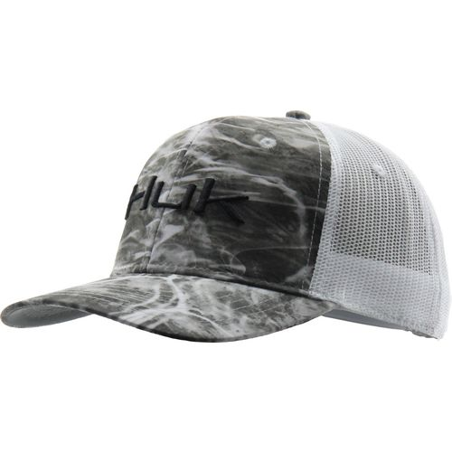 Huk Men's Mossy Oak Elements Camo Trucker Cap
