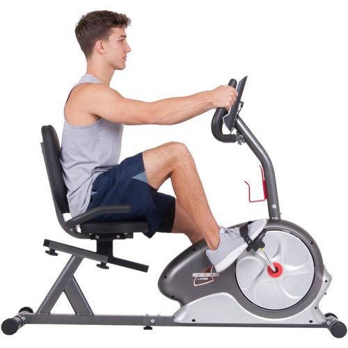 Body Champ Magnetic Recumbent Exercise Bike - view number 4