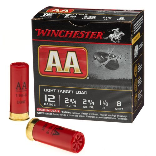 Display product reviews for Winchester AA Target Load 12 Gauge 8 Shotshells