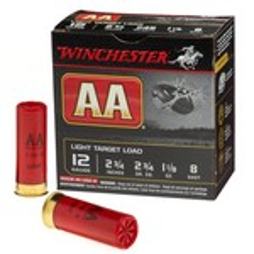 Winchester AA Target Load 12 Gauge 8 Shotshells