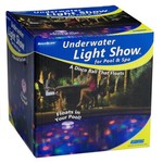 AquaGlow Underwater Light Show