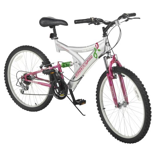 "Ozone 500® Girls' Air Blast 24"" 21-Speed Mountain Bicycle"