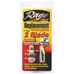 RAGE 2-Blade Replacement Broadhead Blades