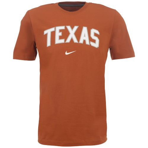 Nike Men's University of Texas Short Sleeve Classic Arch T-shirt