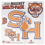 Stockdale NCAA Indoor/Outdoor Magnets 4-Pack