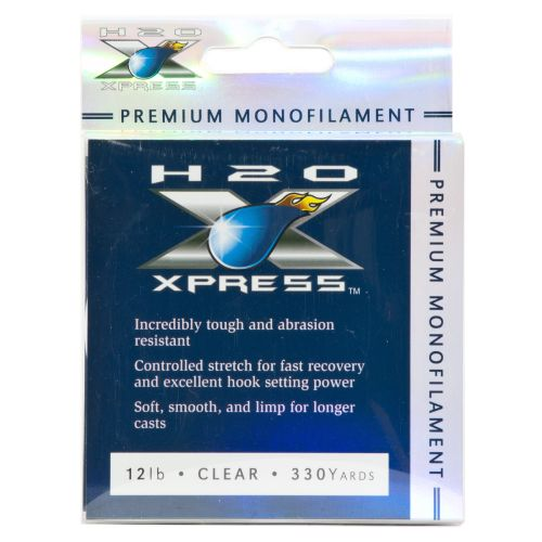 H2O XPRESS® Premium 12 lb. - 330 yards Monofilament Fishing Line