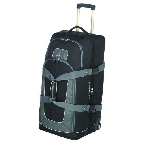 "High Sierra No Limits 32"" Drop-Bottom Rolling Duffel Bag"
