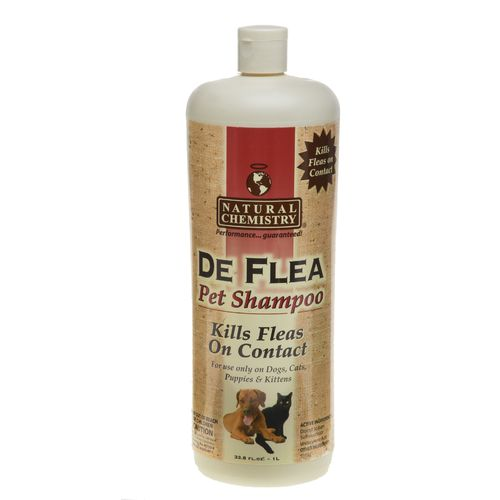 Natural Chemistry 32 oz. De-Flea Pet Shampoo