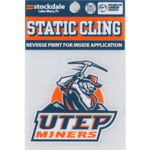 "Stockdale NCAA 4"" x 5"" Static Cling Decal"